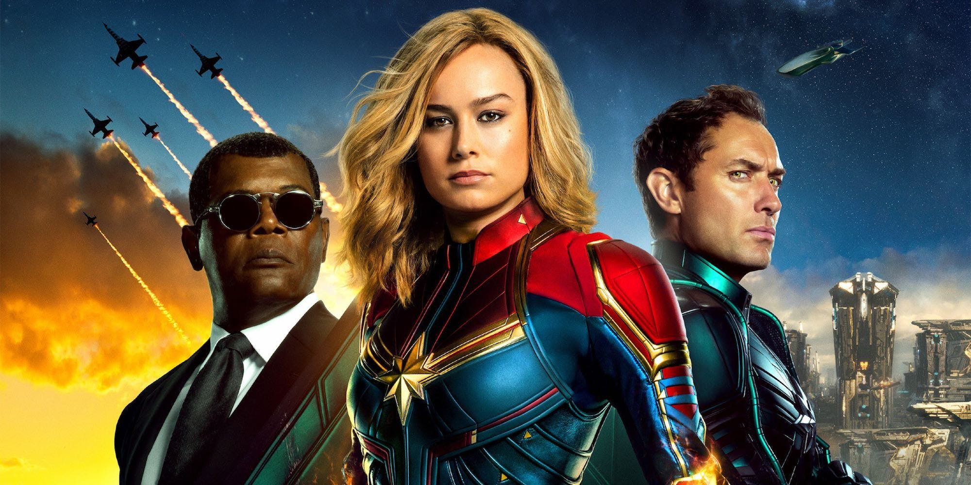 "captain marvel"" is full of action, 90's nostalgia and girl power"